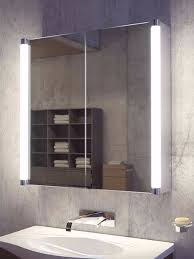 Bathroom Mirror Cabinets With Lights by Saber Two Door Led Bathroom Demister Cabinet Light Mirrors