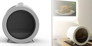 design mikrowelle mikrowelle mit integriertem projektor