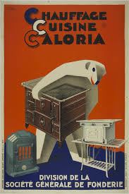 chauffage cuisine chauffage cuisine caloria poster museum