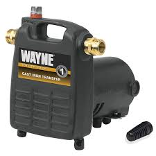 High Suction Lift Water Pump Wayne Pc4 1 2 Hp Cast Iron Multi Purpose Pump With Suction