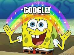 Google It Meme - google rainbow spongebob quickmeme
