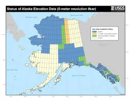 Maps Of Alaska by The National Map Alaska Mapping Initiative Alaska Digital Map Data