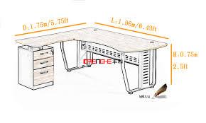 hauteur standard bureau ordinateur taille bureau