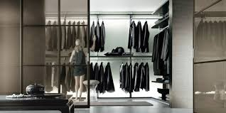 interior divine modern large walk in closet decoration using