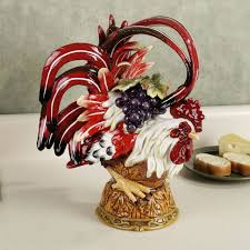 fascinating rooster wall decor kitchen home decorations