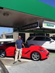 where can i rent a corvette my experience with national car rental s premier selection