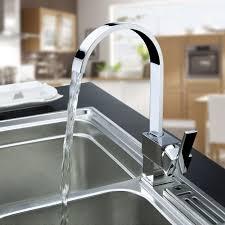 Kitchen Faucets Uk Ouku Deck Mount Certer Set Single Handle Kitchen Vessel Sink