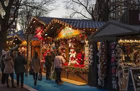 winter markets in prague
