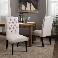 White Fabric Dining Chairs Dining Chairs Mesmerizing White Design Regarding 3
