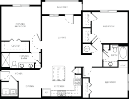 luxury floorplans luxury apartment floor plans 33 west