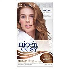 light caramel brown hair color amazon com nice n easy permanent hair color 6w natural light