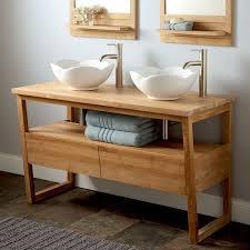 Double Vessel Sink Bathroom Vanities by 88 Best Vessel Sinks And Bathroom Ideas Images On Pinterest