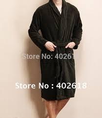 robe de chambre homme luxe le prix le plus bas magnifique 1 pcs lote hommes peignoir