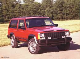 jeep chief cherokee chief xj 1984 u201388 wallpapers