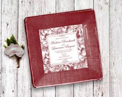 wedding invitation plate keepsake garden wedding gift invitation plate keepsake for couples for
