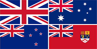 Flag New Zealand Flags Of Canada Australia New Zealand And The United Kingdom