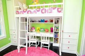 Mixing Work With Pleasure Loft Girls Loft Bed With Desk Underneath Mixing Work With Pleasure Loft