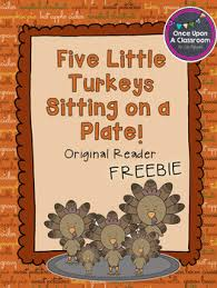 thanksgiving free reader by once upon a classroom tpt