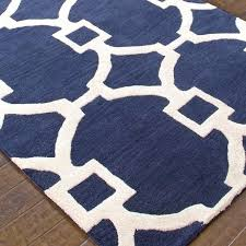 Blue And White Area Rugs Navy Blue Rug Adventurism Co