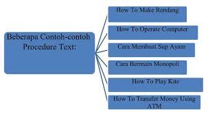 teks prosedur membuat rujak dalam bahasa inggris cara dan contoh membuat procedure text dalam bahasa inggris
