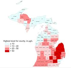 Michigan Prescription Maps there u0027s arsenic in michigan u0027s well water but not a lot of people