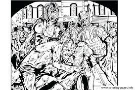 zombie coloring pages u2013 vonsurroquen