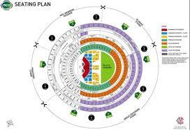 mcg floor plan guns n roses mcg seating plan released