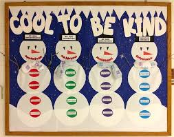 Soft Board Decoration For New Year by Best 25 Winter Bulletin Boards Ideas On Pinterest December