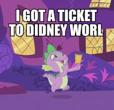 Didney Worl Meme - 330805 didney worl edit edited screencap faic gala ticket