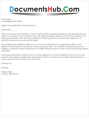 Job Resume Of Teacher by Simple Job Application For Teachers