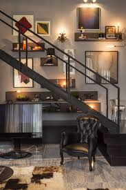 perfect merger between art and design contemporary apartment in