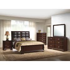 More Bedroom Furniture Manchester Bedroom Bed Dresser U0026 Mirror Queen 756br13 Inside