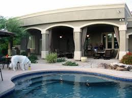 Misters For Patio by Outdoor Patio Arizona Misting Drapes Patio Curtains In Phoenix