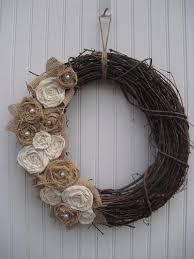 burlap wreaths 10 pretty burlap wreaths for fall tauni co