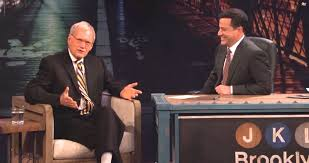 David Letterman Desk Jimmy Kimmel Obsessed With David Letterman Rejection Letter