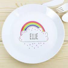 personalised dinner plates ebay