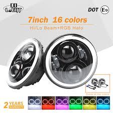strobe lights for car headlights co light drl angel eyes rgb 7 50w strobe light 12v led headlight