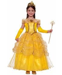 gold princess kids costume girls princess costumes