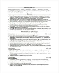 Financial Accountant Resume Sample by 31 Accountant Resume Samples Free U0026 Premium Templates