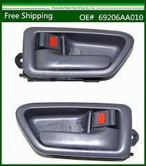 toyota camry interior door handle black inside door handle fit for 94 97 honda accord front pair