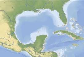 Mexico On Map Gulf Of Mexico Clipart Clipground
