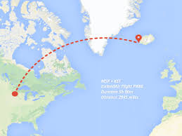 Icelandair Route Map by Day 1 U0026 2 Minneapolis U003e Reykjavik The Midwest Explorers