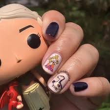 nail art game of thrones finale mani u2013 thedotcouture