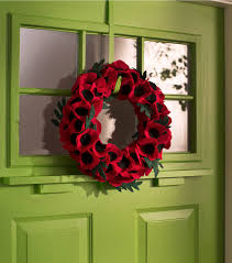 how to make a veteran u0027s day poppy wreath joann