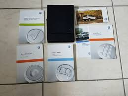 2013 13 vw tiguan owners manual set w case volkswagen bavigation