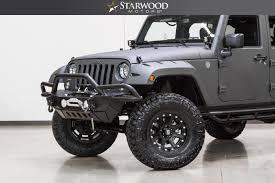 jeep wrangler 2 door hardtop 2017 starwood motors 2017 jeep wrangler unlimited 4x4 lift liner winch