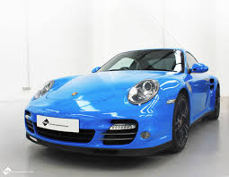blue porsche 911 porsche 911 blue personal vehicle wrap project
