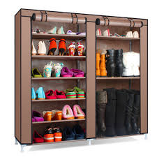 6 tier covered shoes rack diy storage shelf tidy organizer cabinet fa36ce5c 6fb5 4040 b89c ebb2fe256b88 jpg