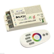 Remote Led Light Strips by 2 4ghz Wireless Remote Control And Music Color Change Controller