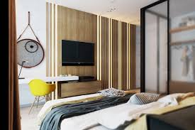 Small Bedroom With Tv Decorating Ideas Black And White Bedroom Ideas With Tv Unit Hung